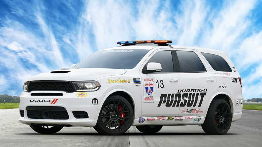 Dodge Durango SRT Pursuit Speed Trap Is A Crazy 797-HP SUV