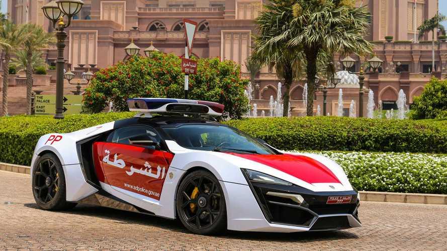 Egy Lykan HyperSport is bekerült az abu-dzabi rendőrség flottájába