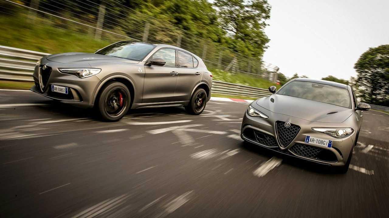 Alfa Romeo Giulia y Stelvio NRING