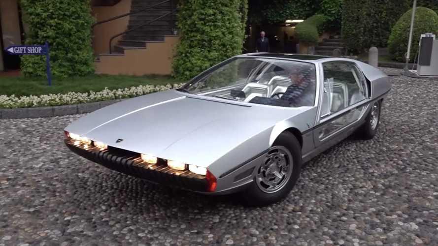 El Lamborghini Marzal de 1967, otra de las estrellas de Villa d'Este