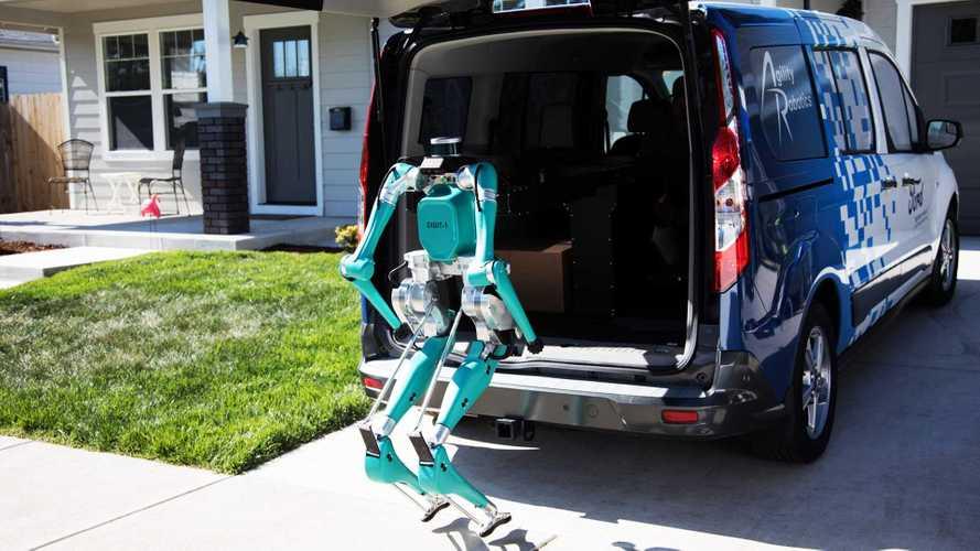 Ford Digit. Il robot per le consegne porta a porta