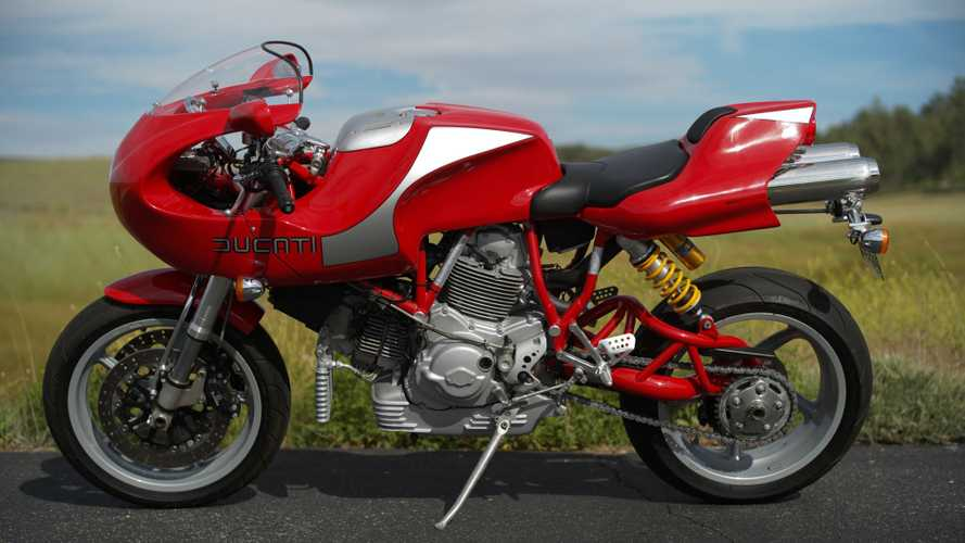 Rare 2002 Ducati MH900e Up For Grabs, Just Bring A Trailer