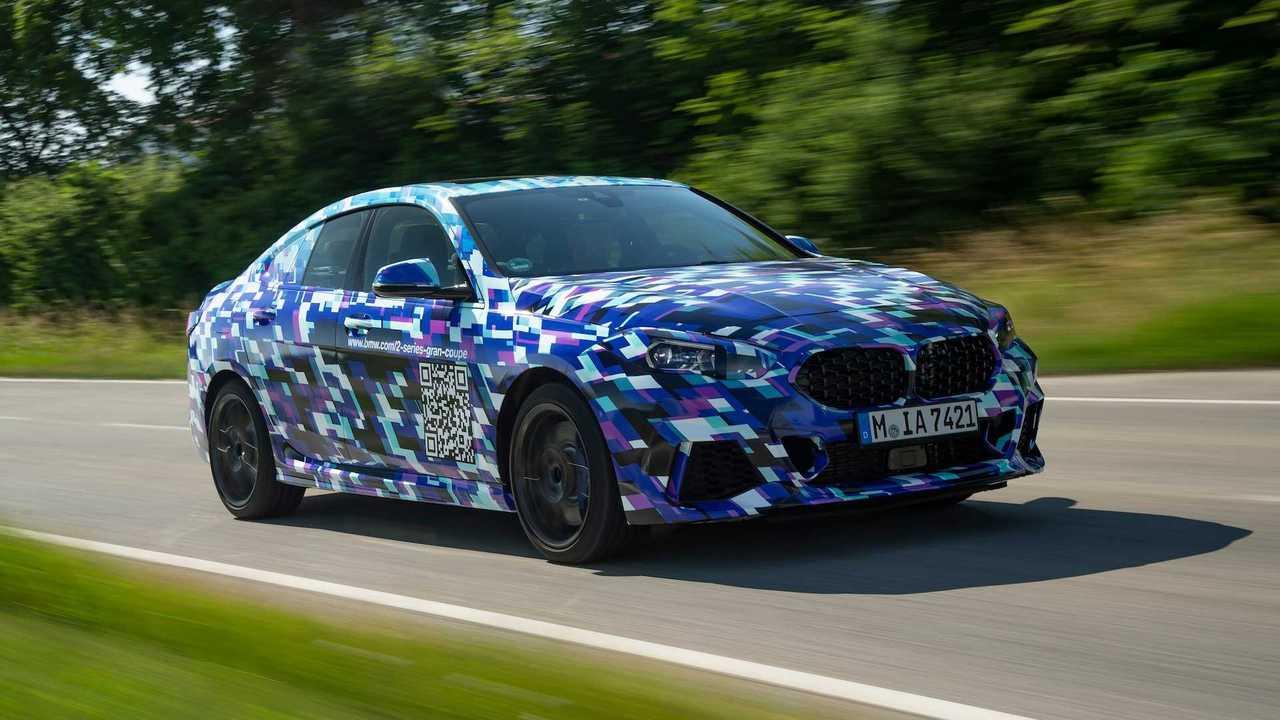 20190 BMW 2 Serisi Gran Coupe Prototipi İlk Sürüş