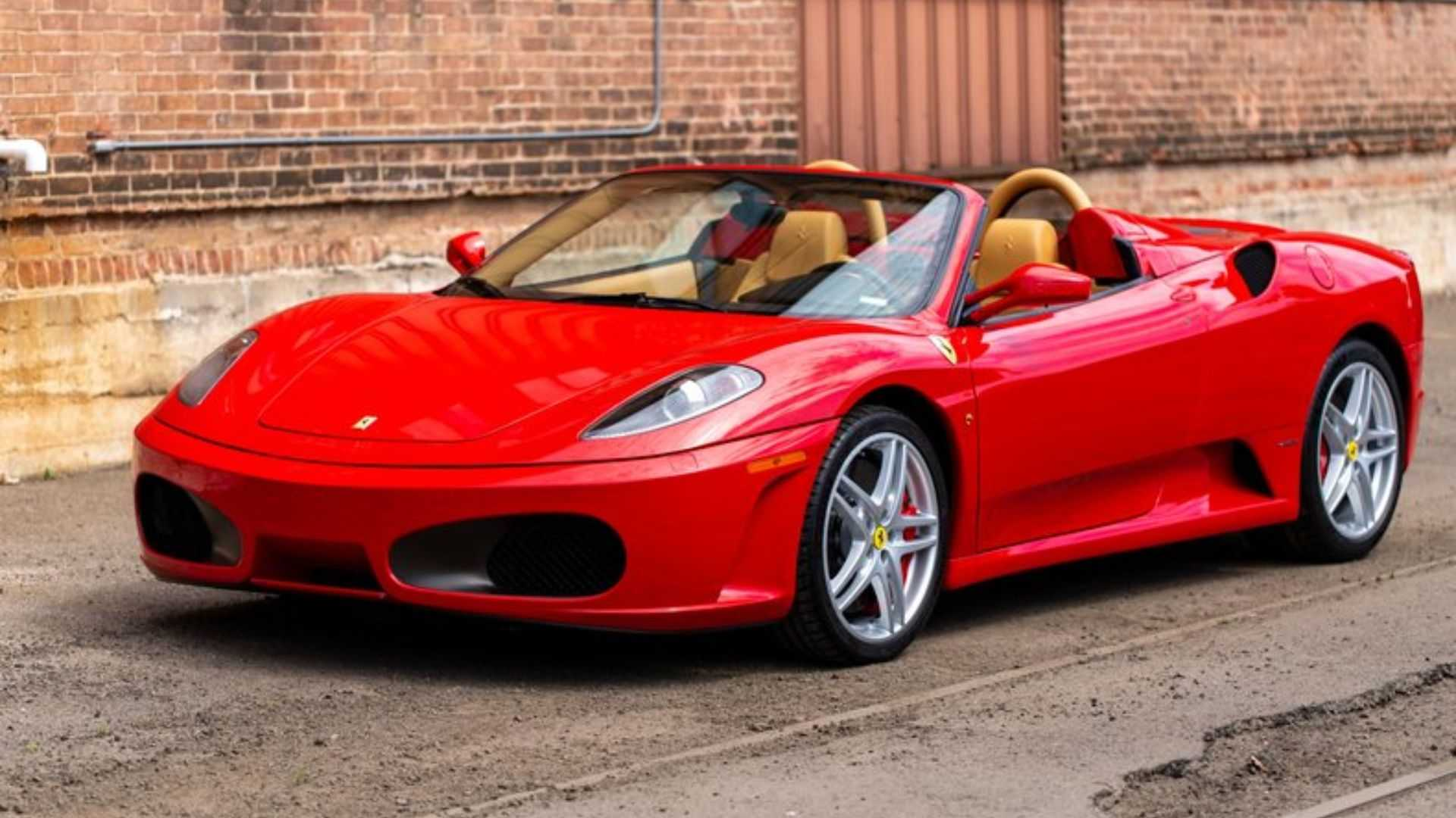 Ferrari F430 Spider Comes With A Gated Manual Motorious