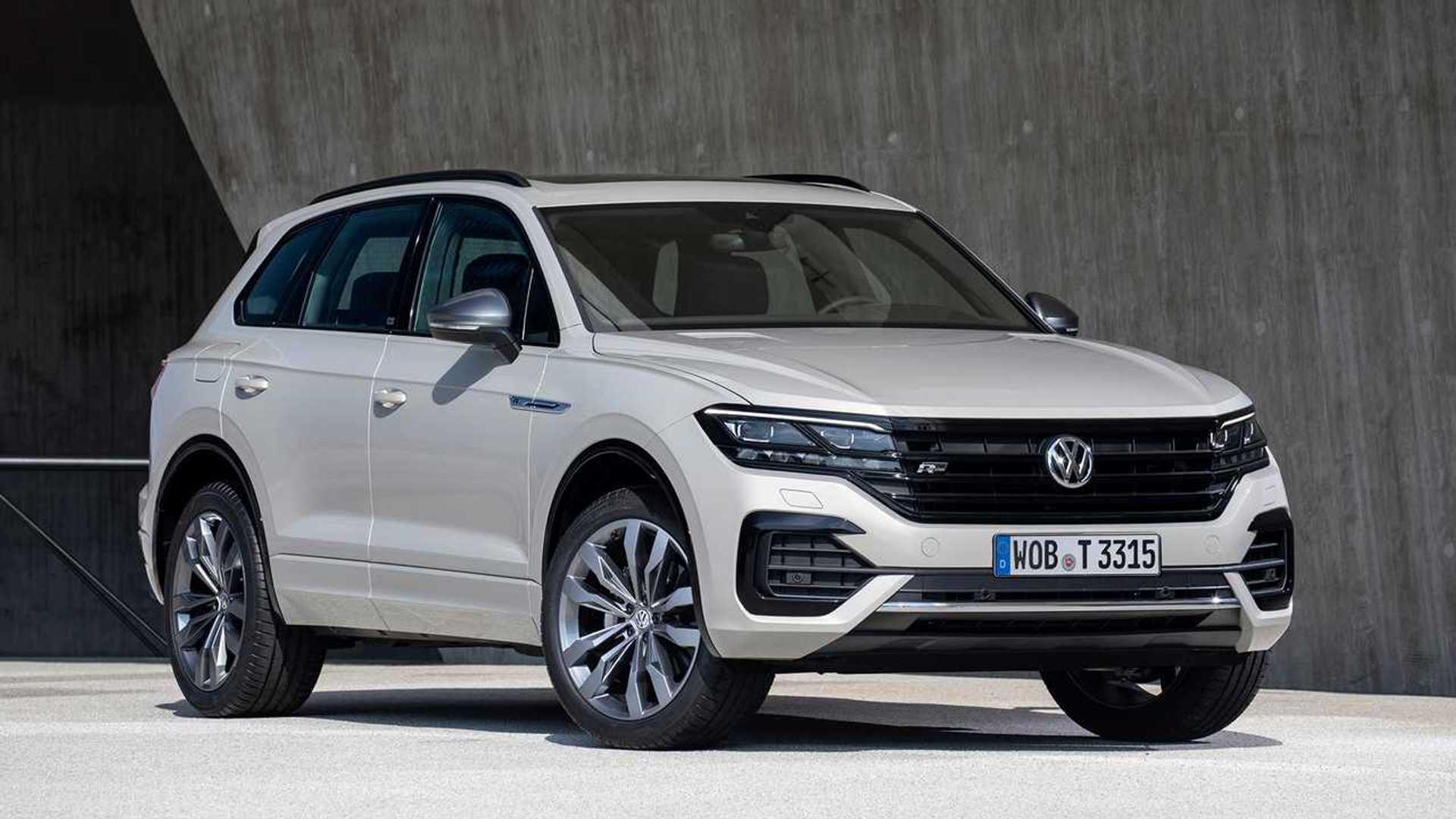 Überblick 2020 VW Touareg