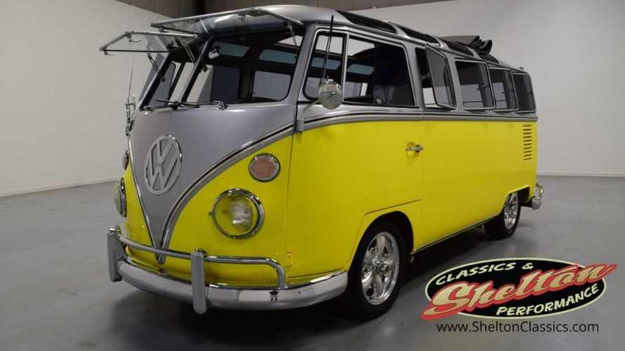 1964 Volkswagen Bus 21 Split Window Makes Transporting The Crew A Blast