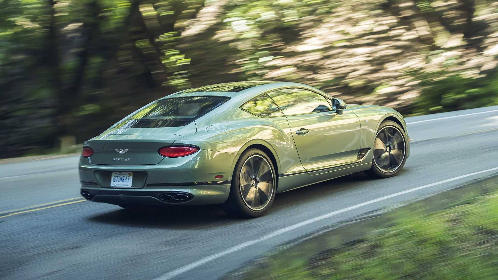 2020 Bentley Continental Gt V8 First Drive A True Bentley