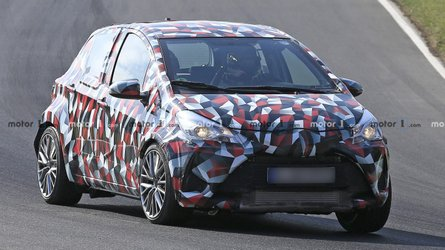 Hot Toyota Yaris spied at the Nurburgring might be next gen