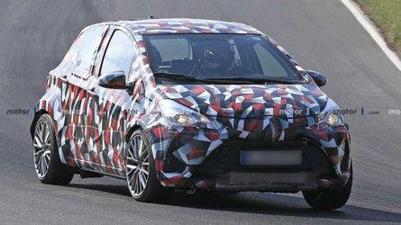 Une étonnante Toyota Yaris musclée aperçue sur le Nürburgring