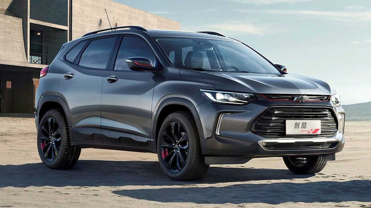 Chevrolet Tracker at Auto Shanghai 2019