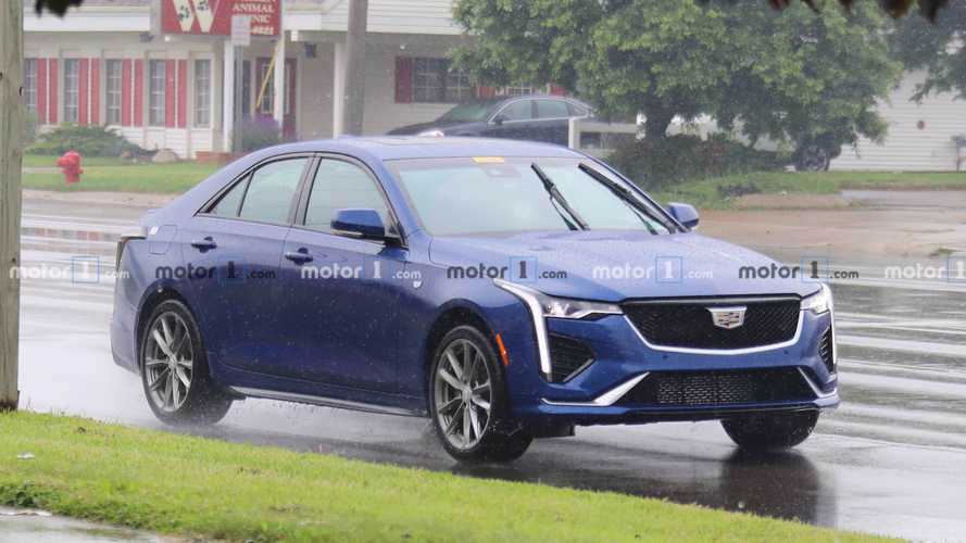2020 Cadillac CT4 Caught Fully Undisguised
