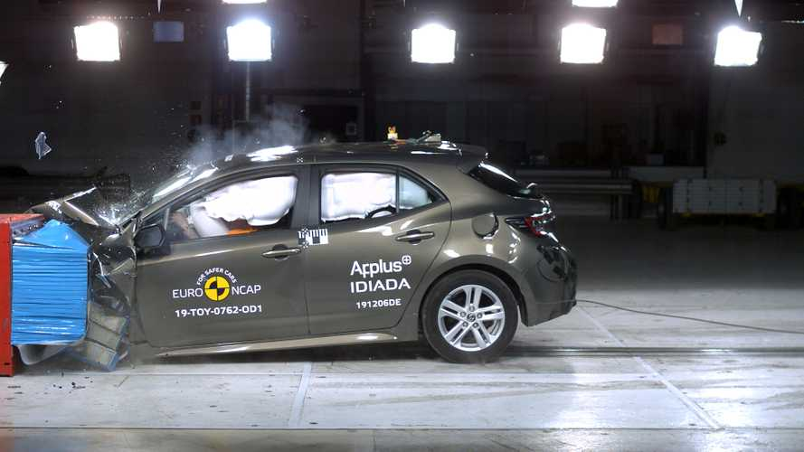 Toyota's latest family cars smash Euro NCAP crash test