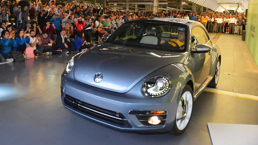 This is the last Beetle that Volkswagen will ever make
