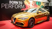 Alfa Romeo Giulia In Heritage Ochre Paint