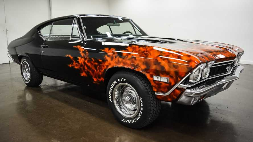 This 1968 Chevrolet Chevelle SS 396 Is On Fire