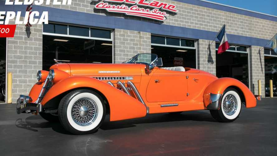 2004 auburn speedster replica mixes style and comfort