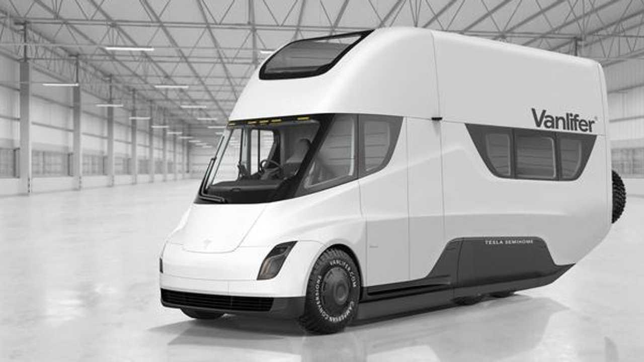 Vanlifer Tesla Semi RV