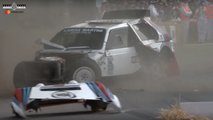 lancia delta s4 crash goodwood fos 2019