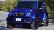 Suzuki Jimny with Mercedes-AMG G63 body kit by Fast Car Service Centre