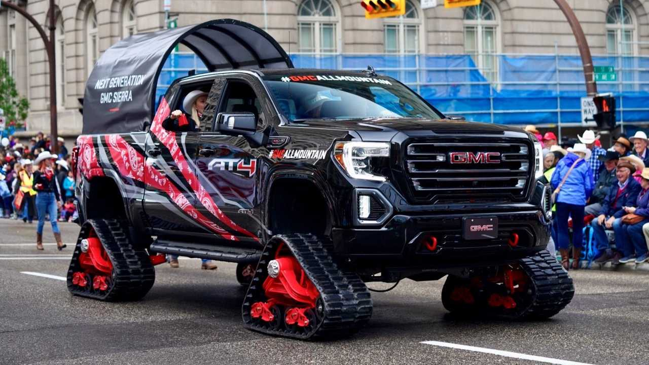Tracked GMC Sierra 1500 AT4 All Mountain Concept Debuts