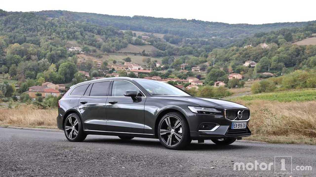 Essai Volvo V60 D4 2019
