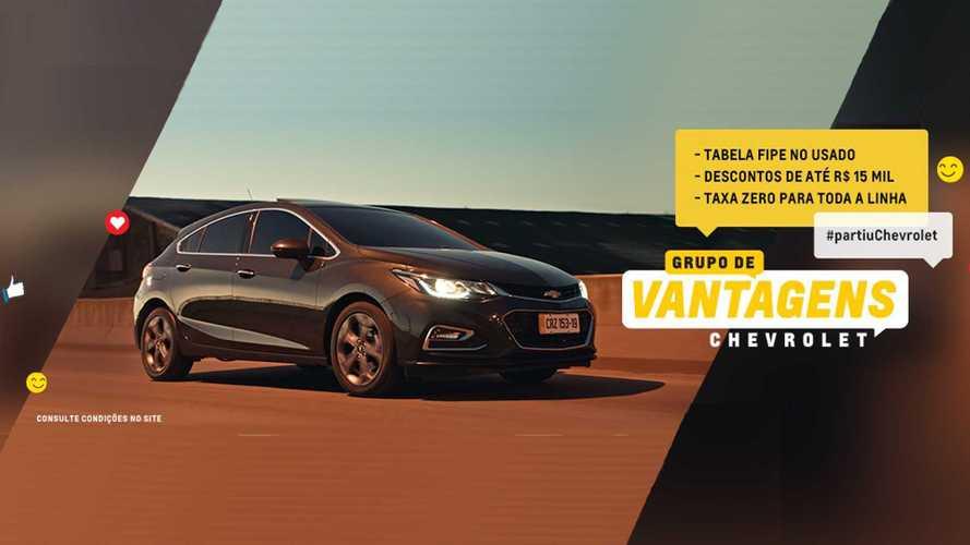 Chevrolet faz promoção em maio com desconto de até R$ 15 mil