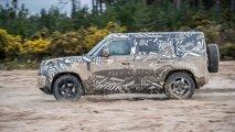 Land Rover Defender 2020 em testes finais