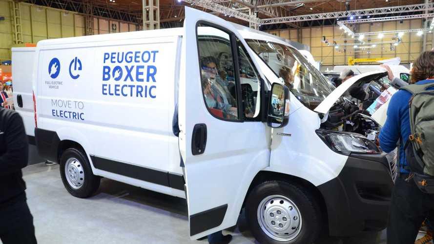PSA unveils Peugeot Boxer & Citroën Jumper Electric vans