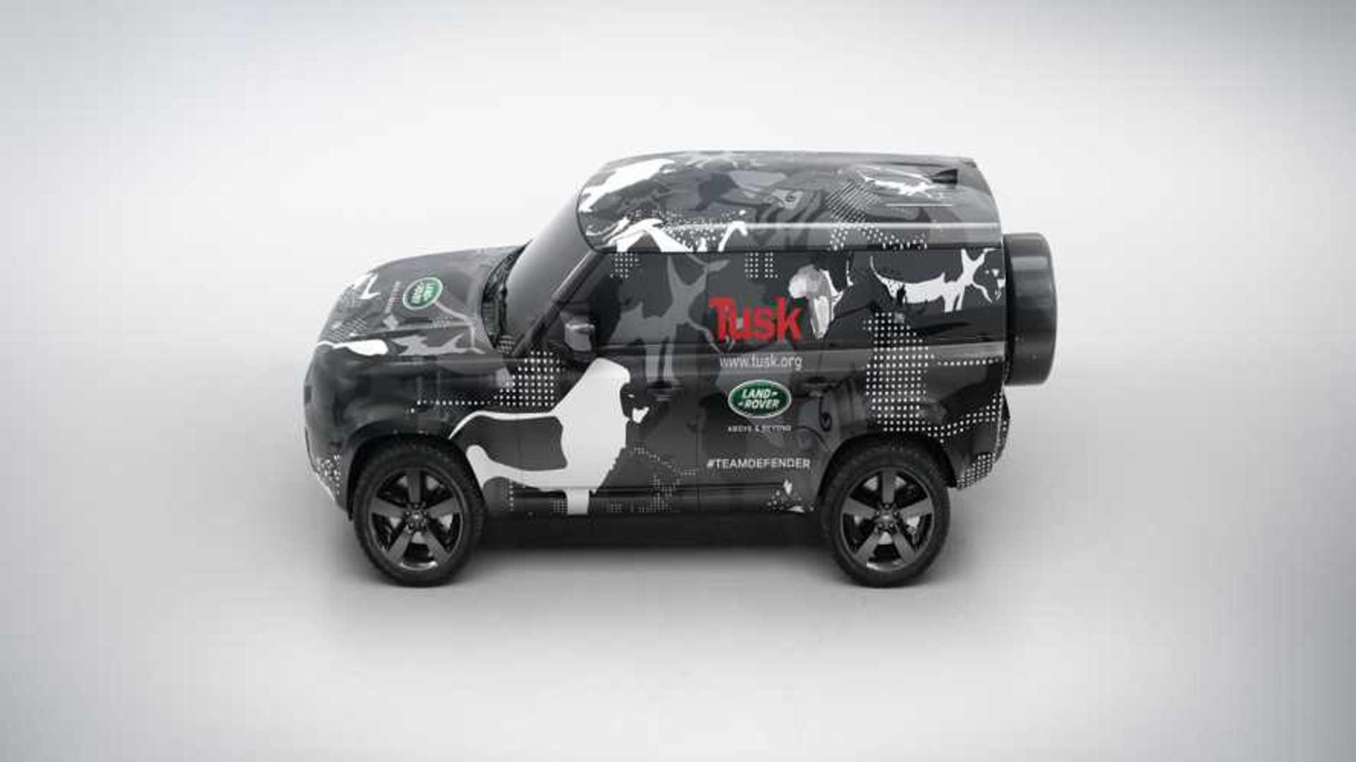 """[""""2020 Land Rover Defender Testing""""]"""