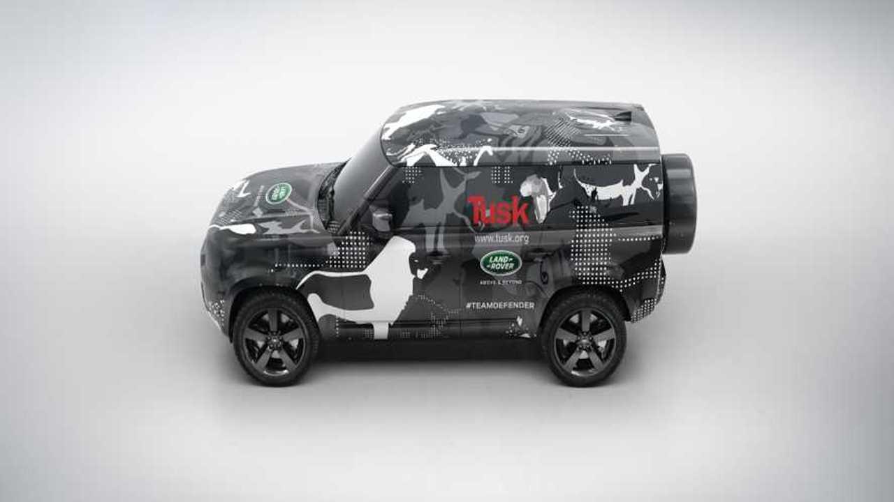 2020 Land Rover Defender Testing