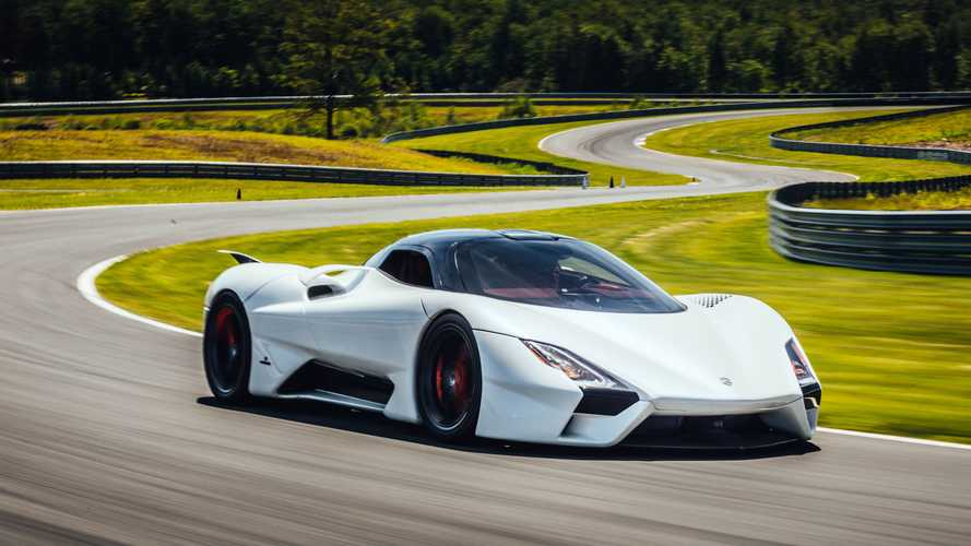 First SSC Tuatara production car to be shown during Monterey Car Week