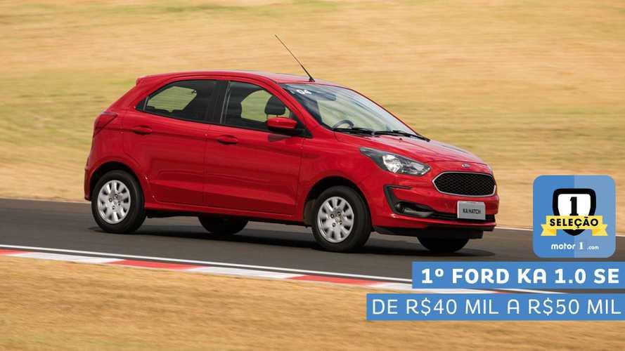Seleção Motor1.com 2019: Ford Ka SE 1.0 vence categoria de R$ 40 mil a R$ 50 mil