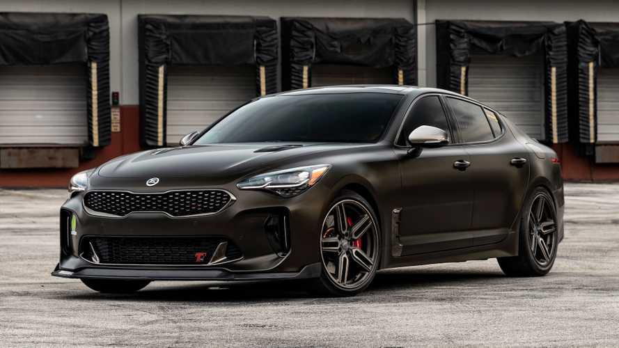 Kia Stinger GT Looks Sharp On Vossen Wheels
