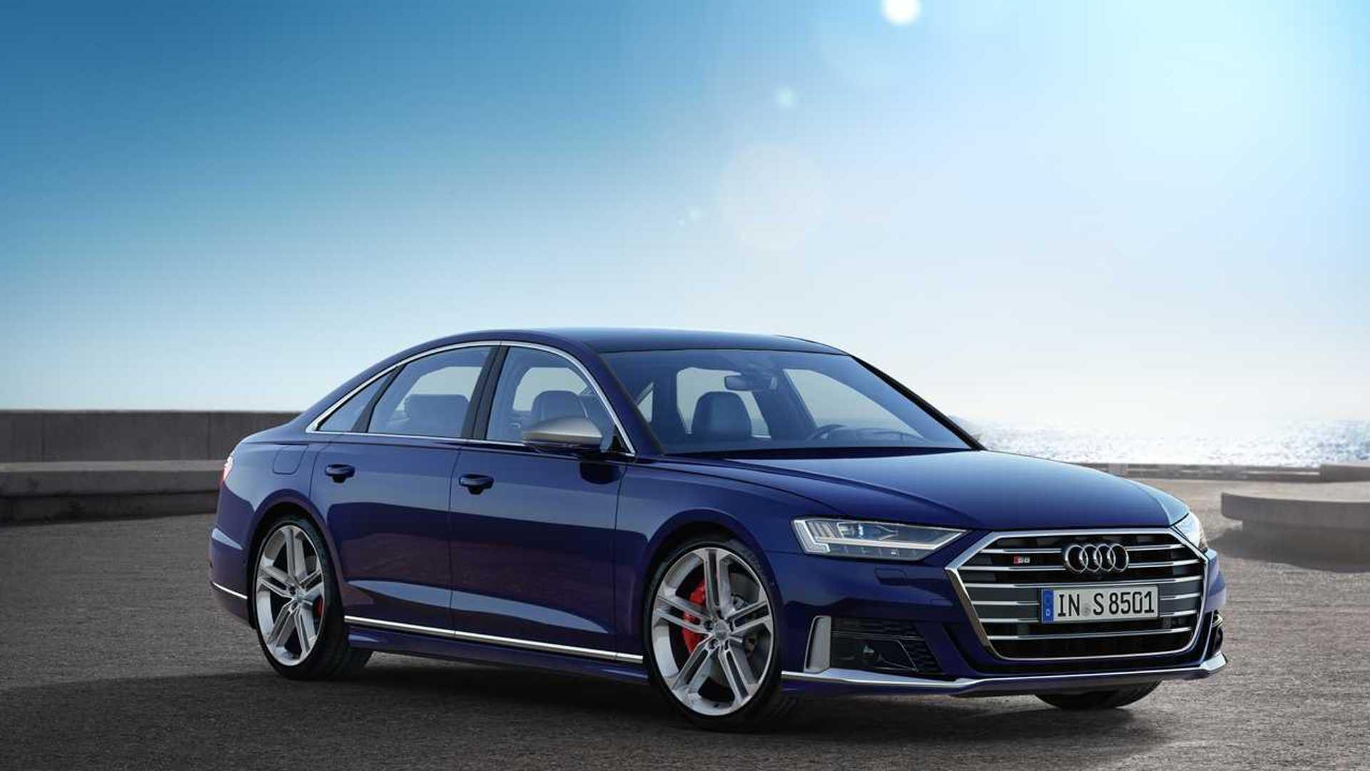 2020 Audi A8 Speed Test