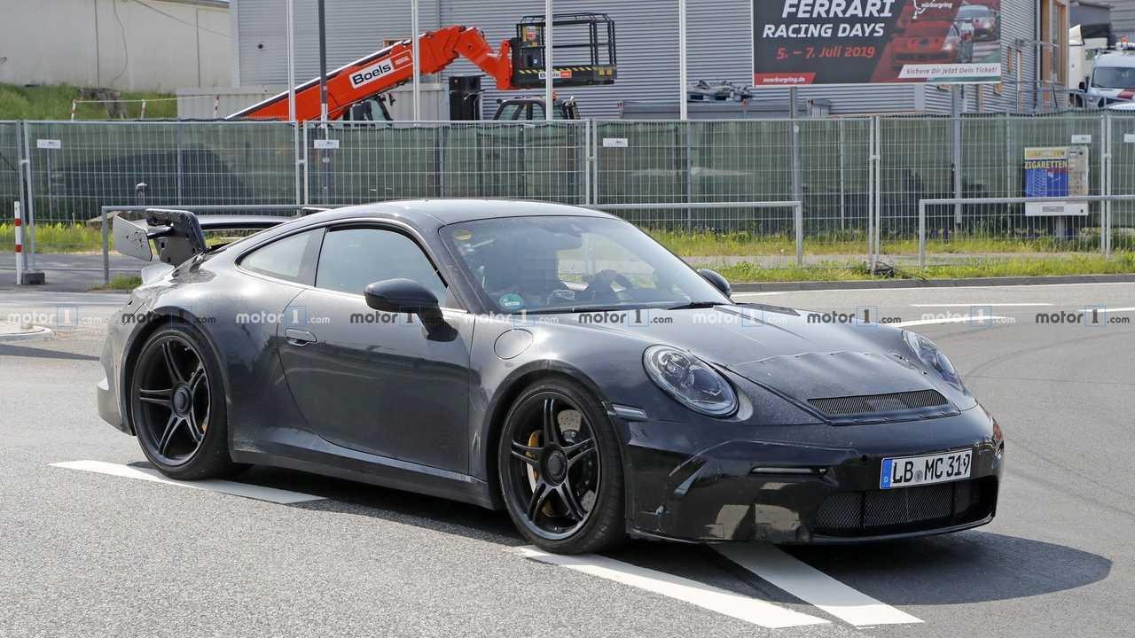 Photo espion Porsche 911 GT3