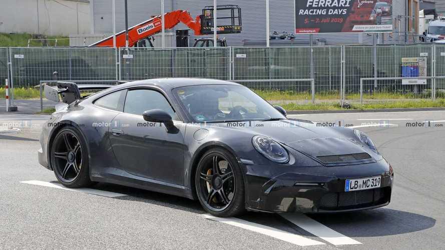 Nouvelle apparition de la Porsche 911 GT3 sur la Nordschleife
