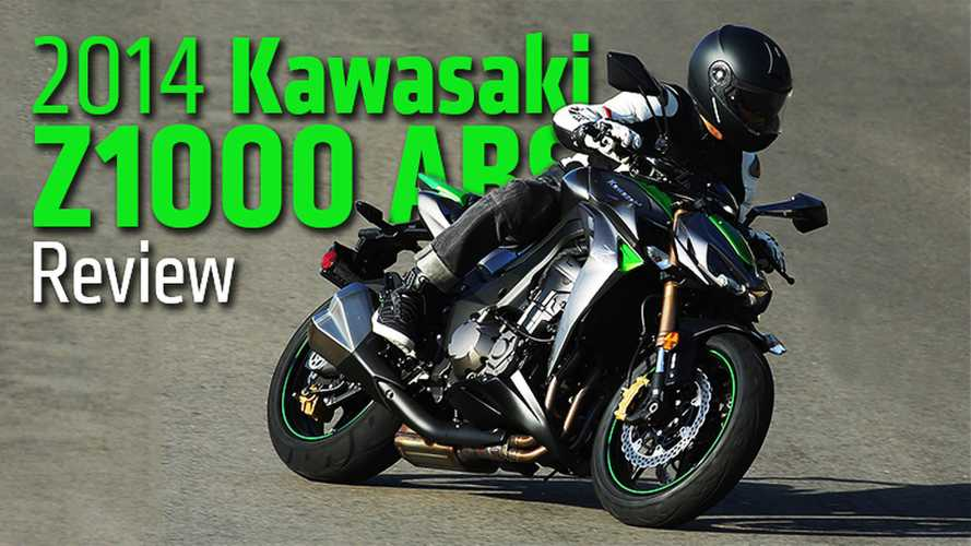 2014 Kawasaki Z1000 ABS Review