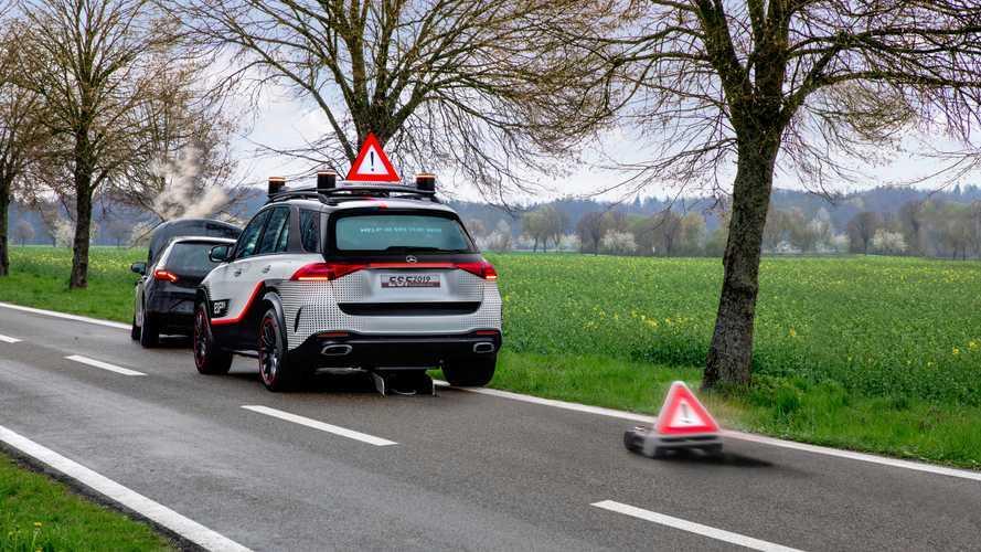 Mercedes Experimentelles Sicherheitsfahrzeug 2019: Mehr Ideen