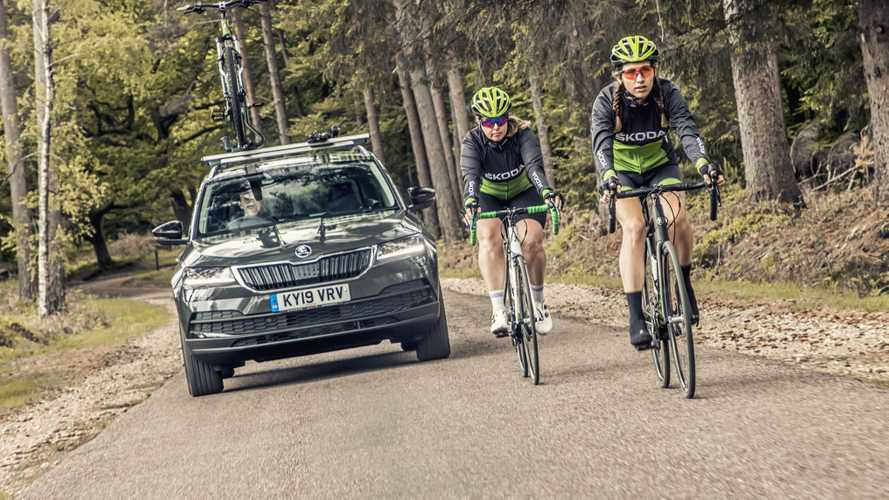 Skoda Karoq Velo concept is for cyclists