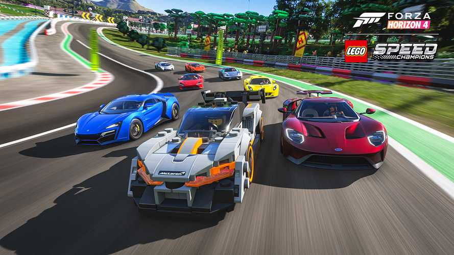 Lego Speed Champions, Rimac C_Two are invading Forza Horizon 4