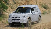 ford baby bronco erlkoenig adventurer