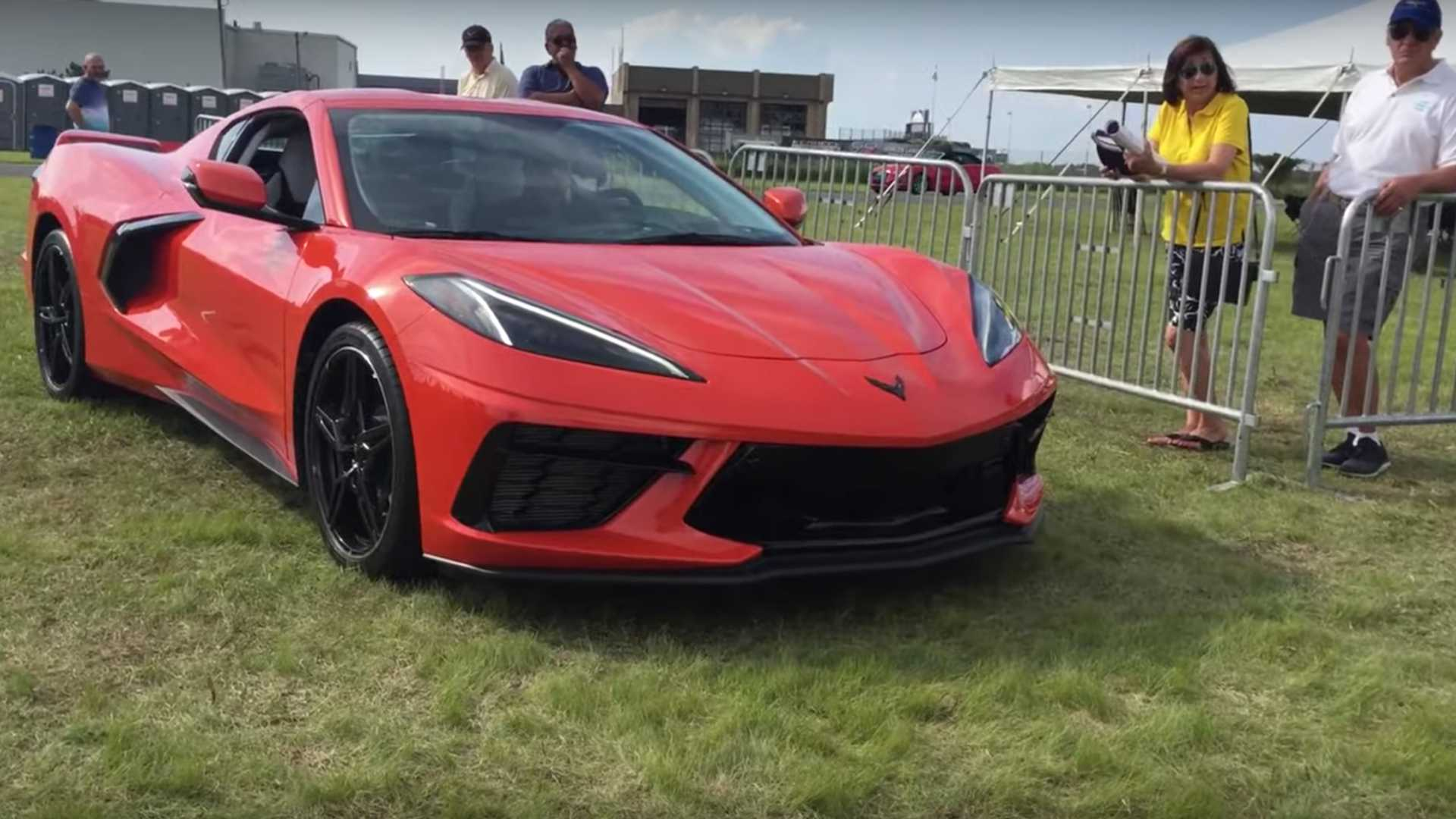2020 Corvette Stingray Front Lift System Put To Good Use