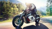 BMW Motorrad Vision DC Roadster: Studie eines Elektro-Motorrads