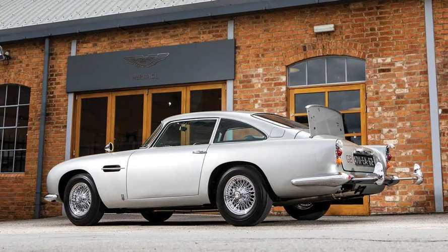 L'Aston Martin DB5 di James Bond in Goldfinger