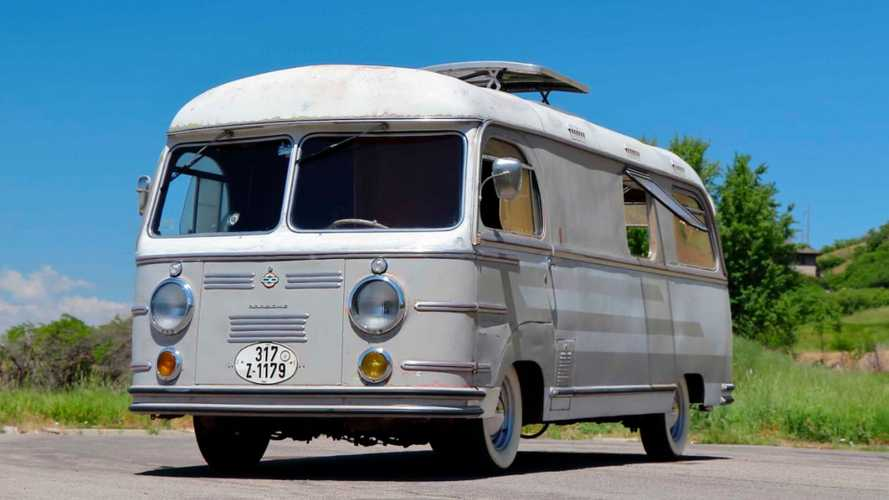 1955 Porsche Tempo Mikafa Sport Camper Sells Beyond Estimates