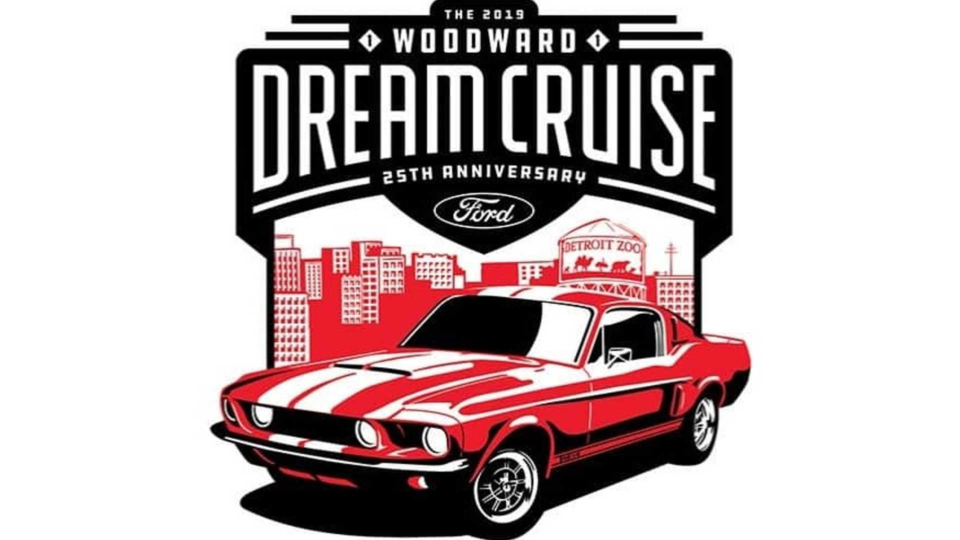 """[""""Ford Celebrates 25th Annual Woodward Dream Cruise With Mustang Alley""""]"""
