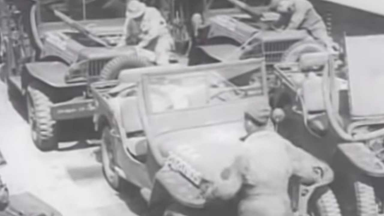 Learn How The Military Waterproofed Willys Jeeps