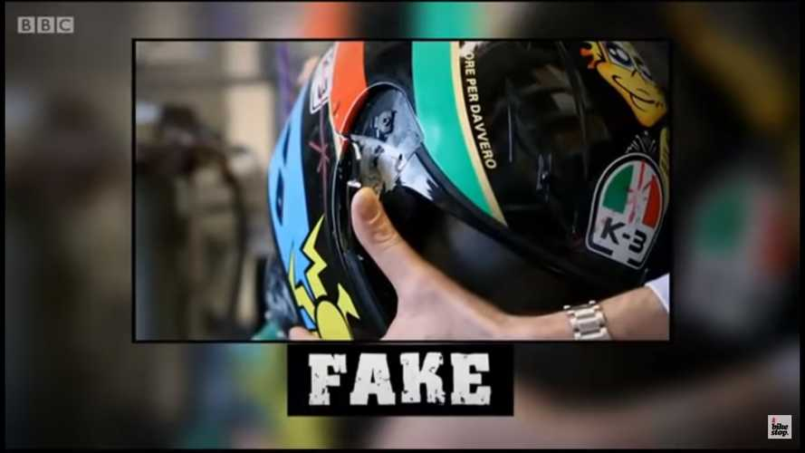 Motorcycle Gear: Fakes Exist. Don't Buy Them.