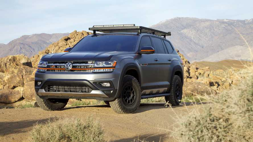 Volkswagen Atlas Basecamp Concept, SUV senza confini