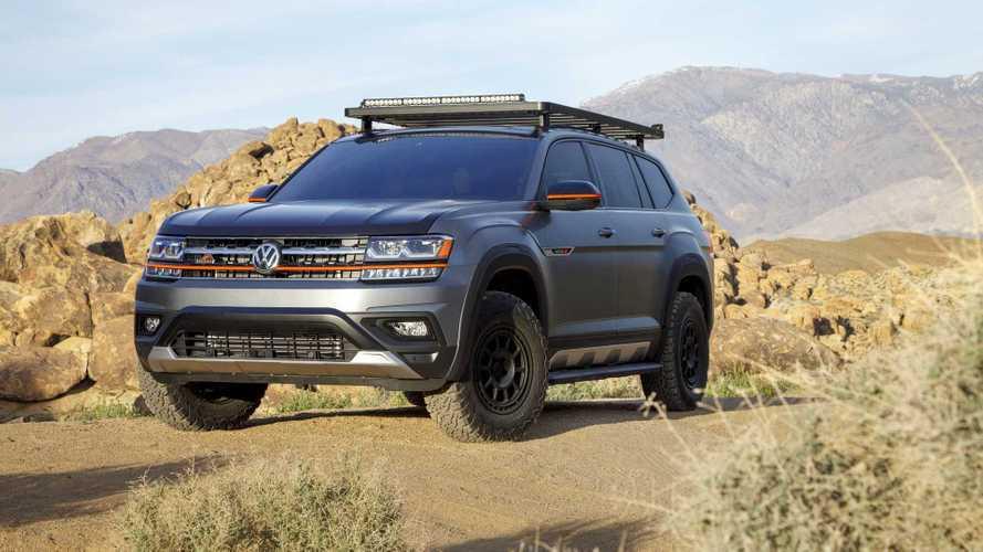 Volkswagen Atlas Basecamp Concept prevê versão aventureira
